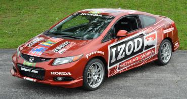 Benson Honda Civic Si IZOD pace car